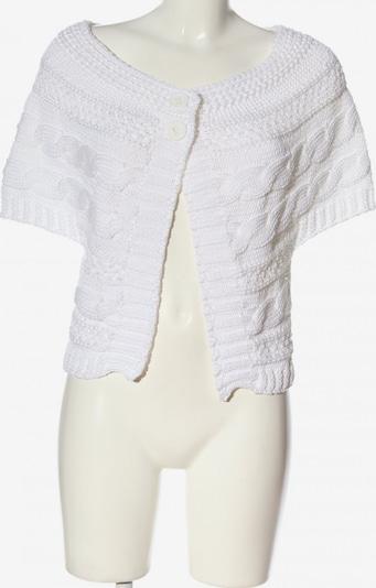 TUZZI Kurzarmstrickjacke in L in weiß, Produktansicht