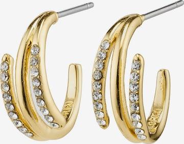 Pilgrim Earrings 'Serenity' in Gold