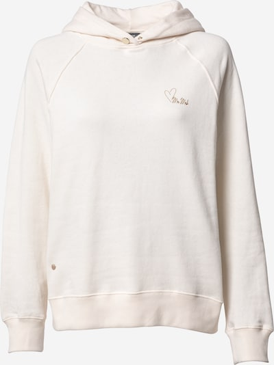 MOS MOSH Sweatshirt 'Kash' in ecru / gold, Produktansicht