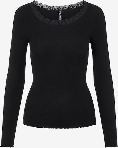PIECES Shirt in schwarz, Produktansicht