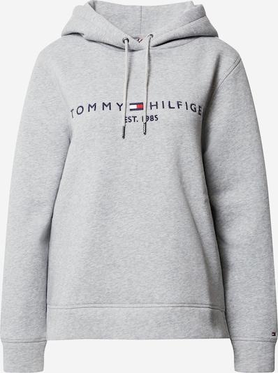 TOMMY HILFIGER Mikina - námornícka modrá / sivá / červená / biela, Produkt
