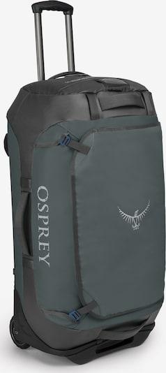 Osprey Sporttas in de kleur Donkergrijs / Zwart / Wit, Productweergave
