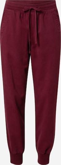 GAP Pantalon en lie de vin, Vue avec produit