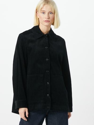 DRYKORN Mantel in schwarz, Modelansicht