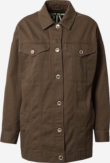 River Island Jacke in khaki, Produktansicht