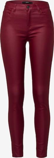zero Jeans in rot, Produktansicht