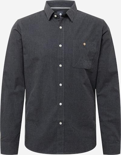 FAGUO Hemd 'ONCA' in dunkelgrau, Produktansicht