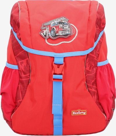 Scouty Rucksack 'Woody' 33cm in rot, Produktansicht