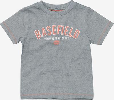 BASEFIELD Majica u mornarsko plava / koraljna / bijela, Pregled proizvoda