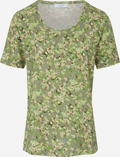 mayfair BY PETER HAHN Shirt in grasgrün / pink / altrosa, Produktansicht