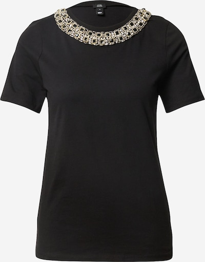 River Island Shirt in gold / schwarz / weiß, Produktansicht