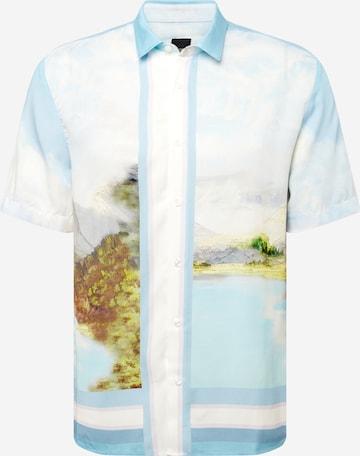 River Island Hemd in Blau