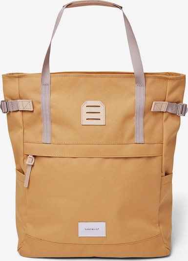 SANDQVIST Backpack 'Roger' in Yellow, Item view