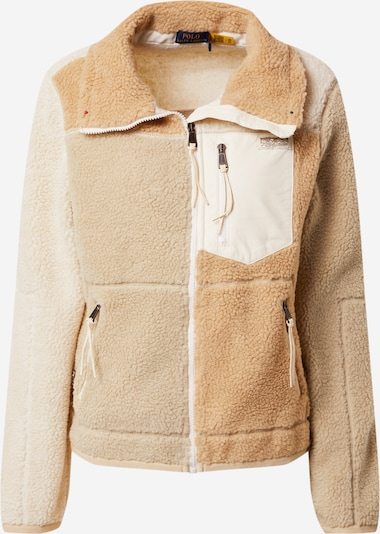 Polo Ralph Lauren Zip-Up Hoodie in Nude / Camel / natural white, Item view