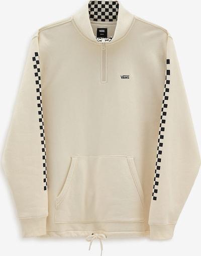 VANS Sweat-shirt en beige / noir, Vue avec produit