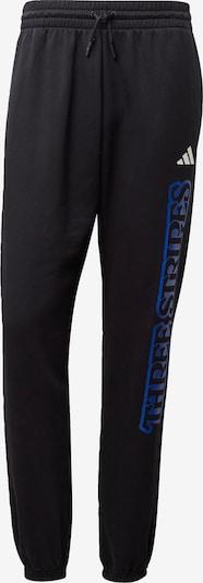 ADIDAS PERFORMANCE Sporthose in blau / koralle / schwarz / weiß, Produktansicht