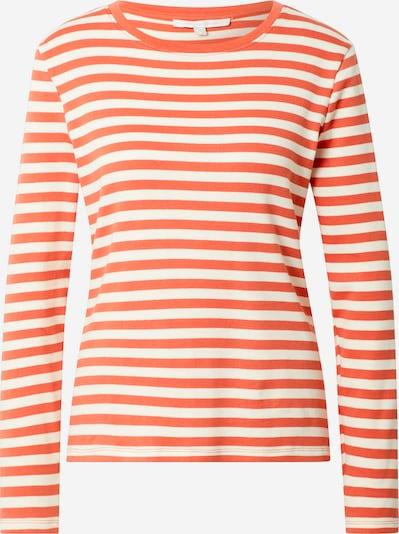 TOM TAILOR DENIM Majica | kremna / korala barva, Prikaz izdelka