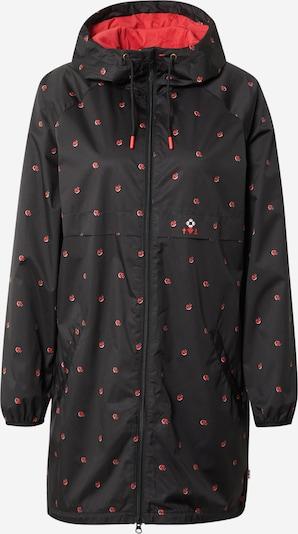 Blutsgeschwister Jacke in rot / schwarz, Produktansicht