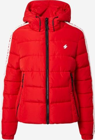 Superdry Between-Season Jacket in Red