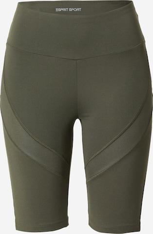 Pantaloni sportivi di ESPRIT SPORT in verde
