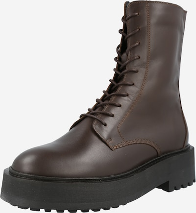 Y.A.S Lace-Up Ankle Boots in Chestnut brown, Item view