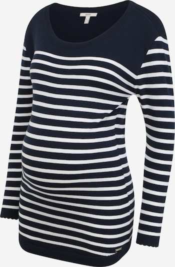 Esprit Maternity Trui in de kleur Navy / Wit, Productweergave