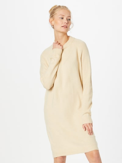 PIECES Knitted dress 'CHAPA' in Beige, View model