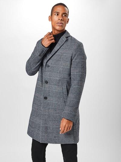 Palton de primăvară-toamnă ESPRIT pe albastru închis / gri / negru, Vizualizare model