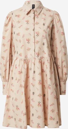 Y.A.S Kleid 'Cutie' in beige / gelb / dunkelgrün / orange / pink, Produktansicht