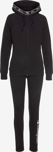 Champion Authentic Athletic Apparel Trainingsanzug in hellgrau / schwarz, Produktansicht
