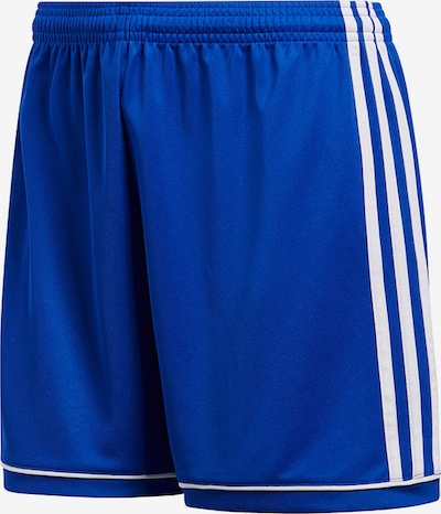 ADIDAS PERFORMANCE Shorts 'Squadra 17' in blau / weiß: Frontalansicht