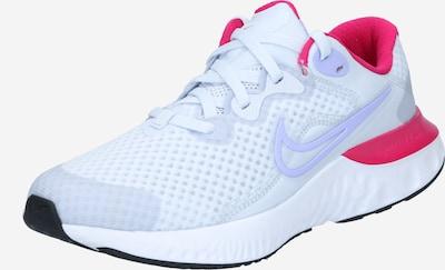 NIKE Chaussure de course 'Renew' en bleu clair / rose / blanc, Vue avec produit