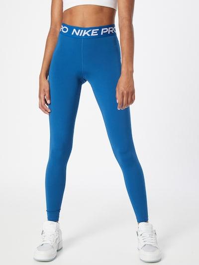 NIKE Sporthose in royalblau / weiß, Modelansicht