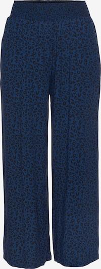 Pantaloni 'Delilah' BRUNOTTI pe albastru / negru, Vizualizare produs