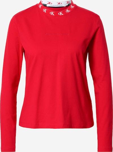 Calvin Klein Jeans Shirt in rot / weiß, Produktansicht