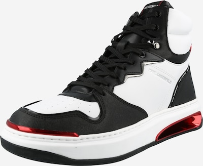 Karl Lagerfeld Sneaker 'ELEKTRO' in rot / schwarz / weiß, Produktansicht