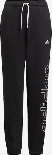 ADIDAS PERFORMANCE Sportbroek 'Essentials' in de kleur Zwart / Wit, Productweergave