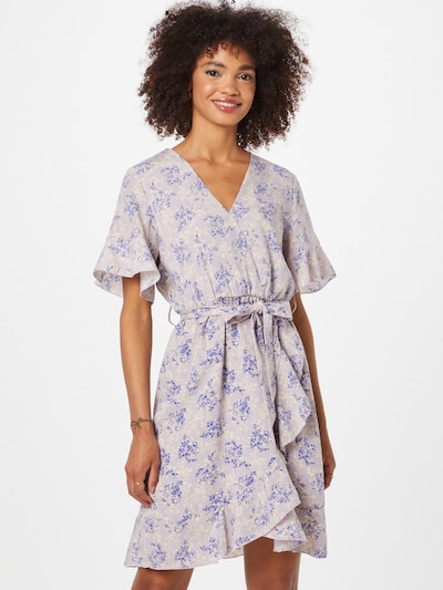 SISTERS POINT Kleid 'NEW GRETO-11' in creme / blau / pastelllila, Modelansicht
