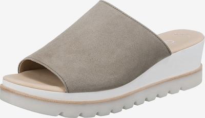 GABOR Pantolette in khaki, Produktansicht