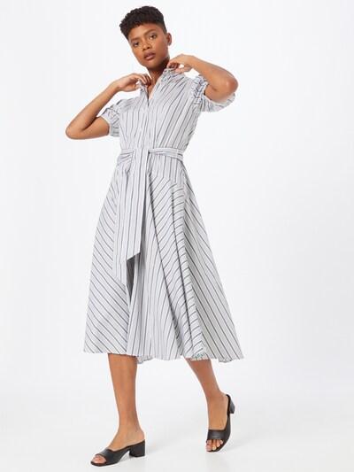 Lauren Ralph Lauren Kleid 'Anella' in schwarz / weiß, Modelansicht