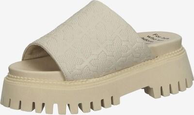 BRONX Pantolette in beige, Produktansicht