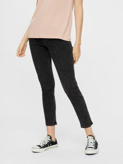 PIECES Jeans in de kleur Black denim, Modelweergave