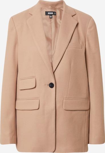 Missguided Blazer 'Boyfriend' en beige, Vue avec produit