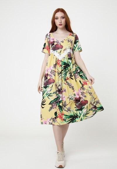 Madam-T Sommerkleid 'AIR' in mischfarben, Modelansicht
