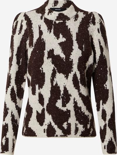 Megztinis iš Vero Moda Petite , spalva - juoda / balkšva, Prekių apžvalga