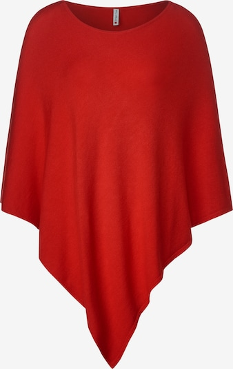 STREET ONE Poncho in rot, Produktansicht