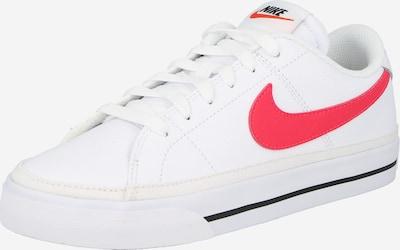 Sneaker low 'Court Legacy' Nike Sportswear pe roșu deschis / negru / alb, Vizualizare produs
