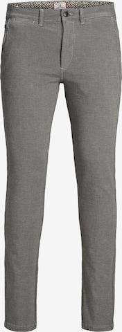 Pantalon chino 'Marco Kenso' JACK & JONES en gris