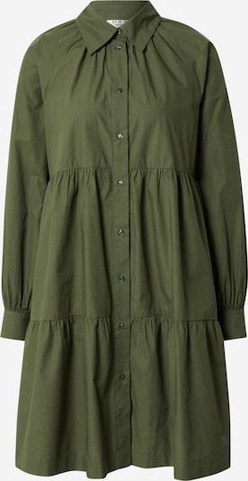 DAY BIRGER ET MIKKELSEN Рокля тип риза 'Day Crisp' в тъмнозелено, Преглед на продукта