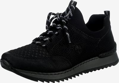 RIEKER Platform trainers in Black / White, Item view